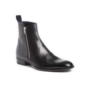 NWOB‼️ SAINT LAURENT Wyatt side zip leather Ankle